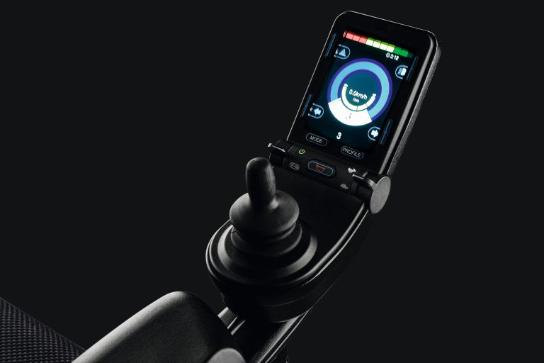 R-Net LCD joystick for powerchairs