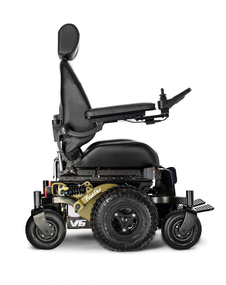 V6 all-terrain powerchair