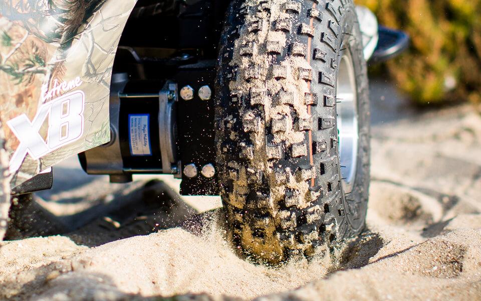 all terrain extreme x8 all terrain powerchair