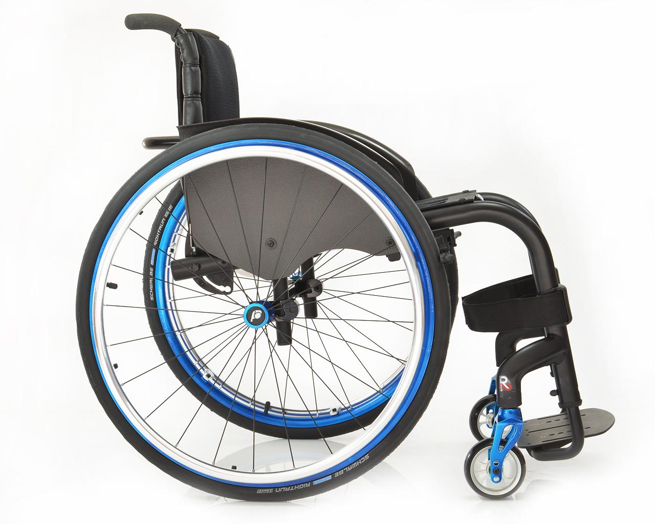 joker r2 side view active rigid wheelchair