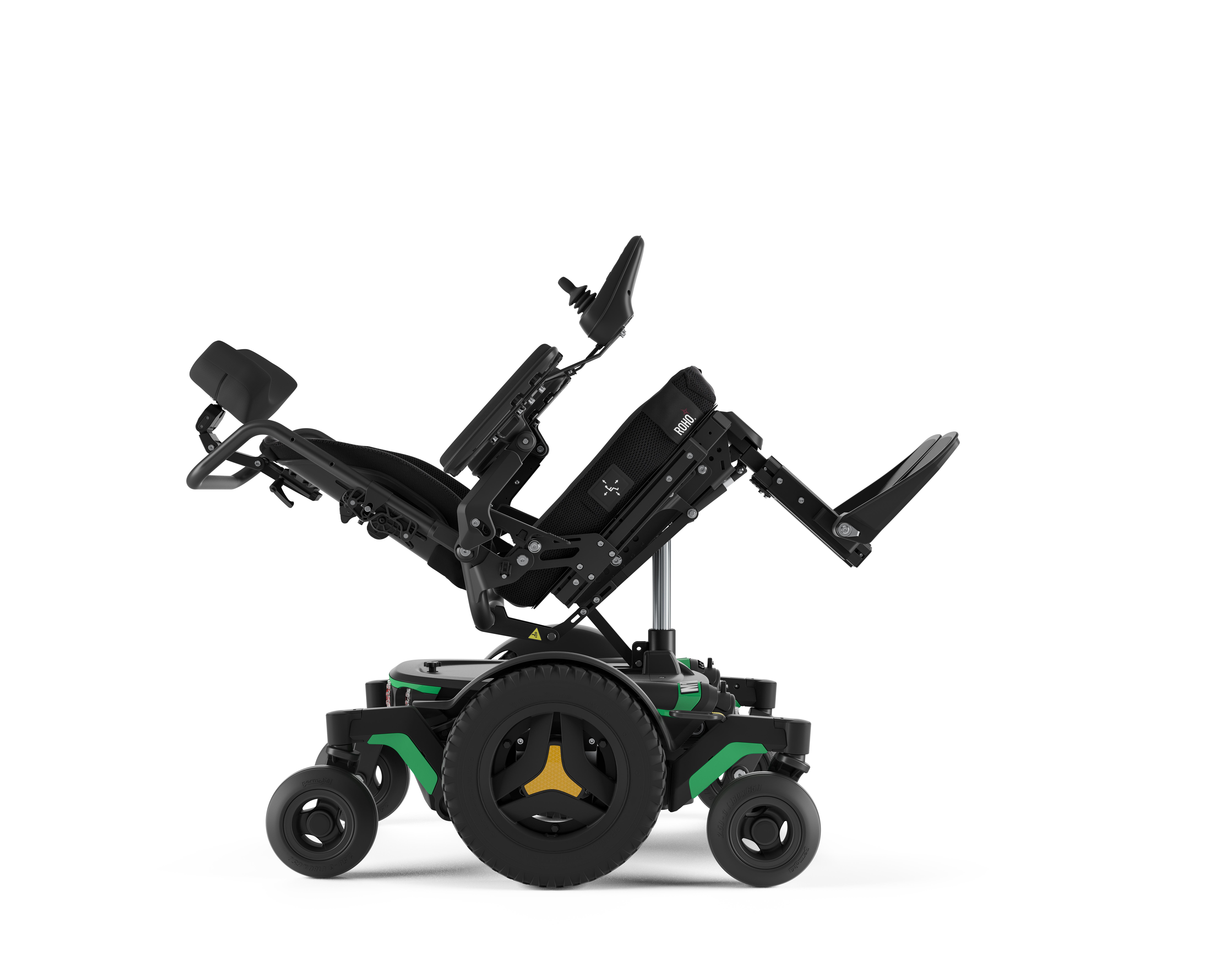 m1 indoor powerchairs in green