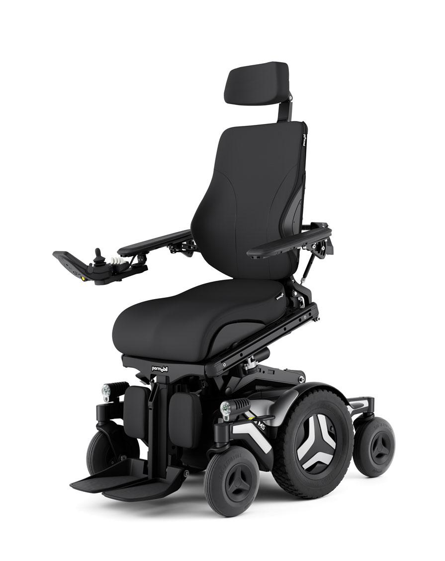 m5 corpus outdoor/indoor powerchair