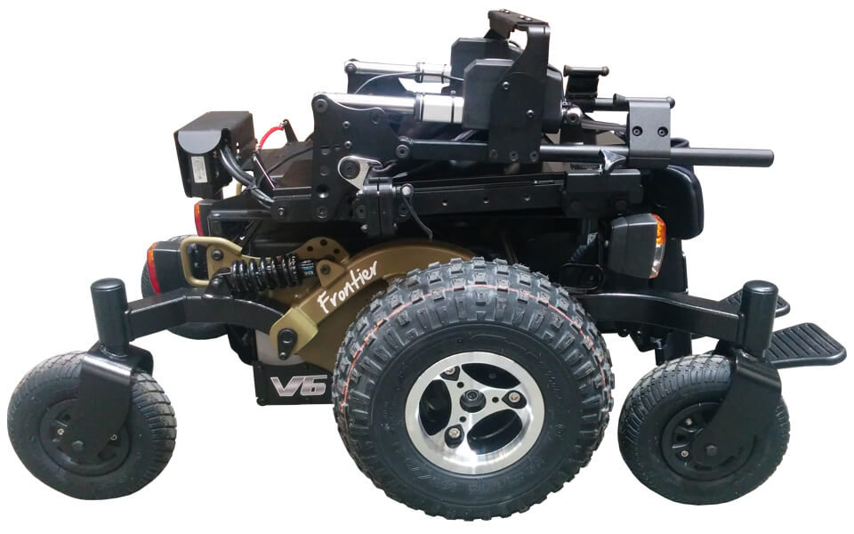 Frontier V6 all-terrain powerchair