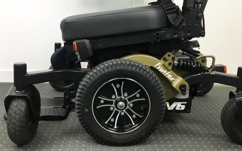 Frontier V6 all-terrain powerchair base