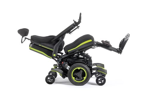 Q700M UP standing powerchair pressure relief