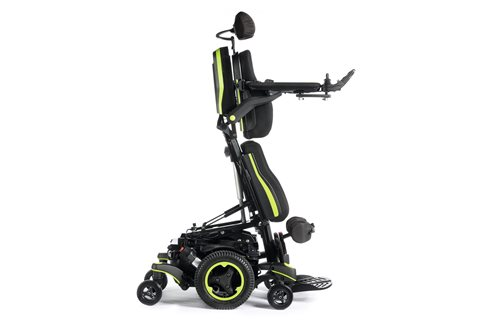 Q700M UP standing powerchair in green