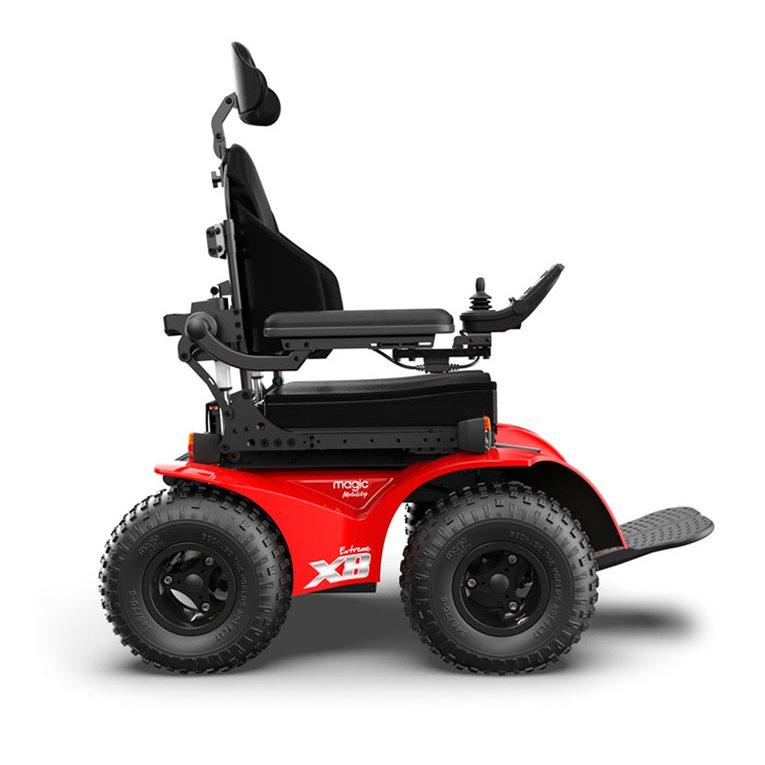 magic mobility extreme x8 all terrain powerchair