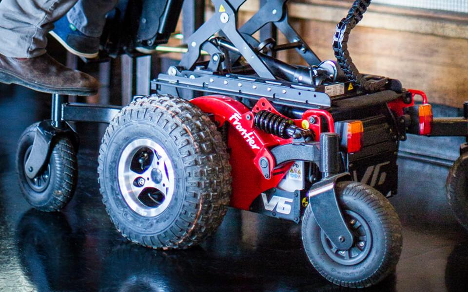 magic mobility all-terrain powerchair