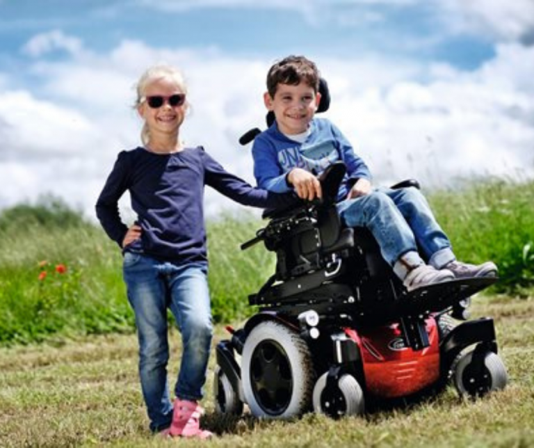 Zippie pediatric powerchair off-road