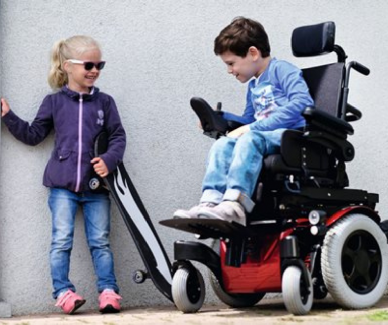 Zippie M2 pediatric powerchair