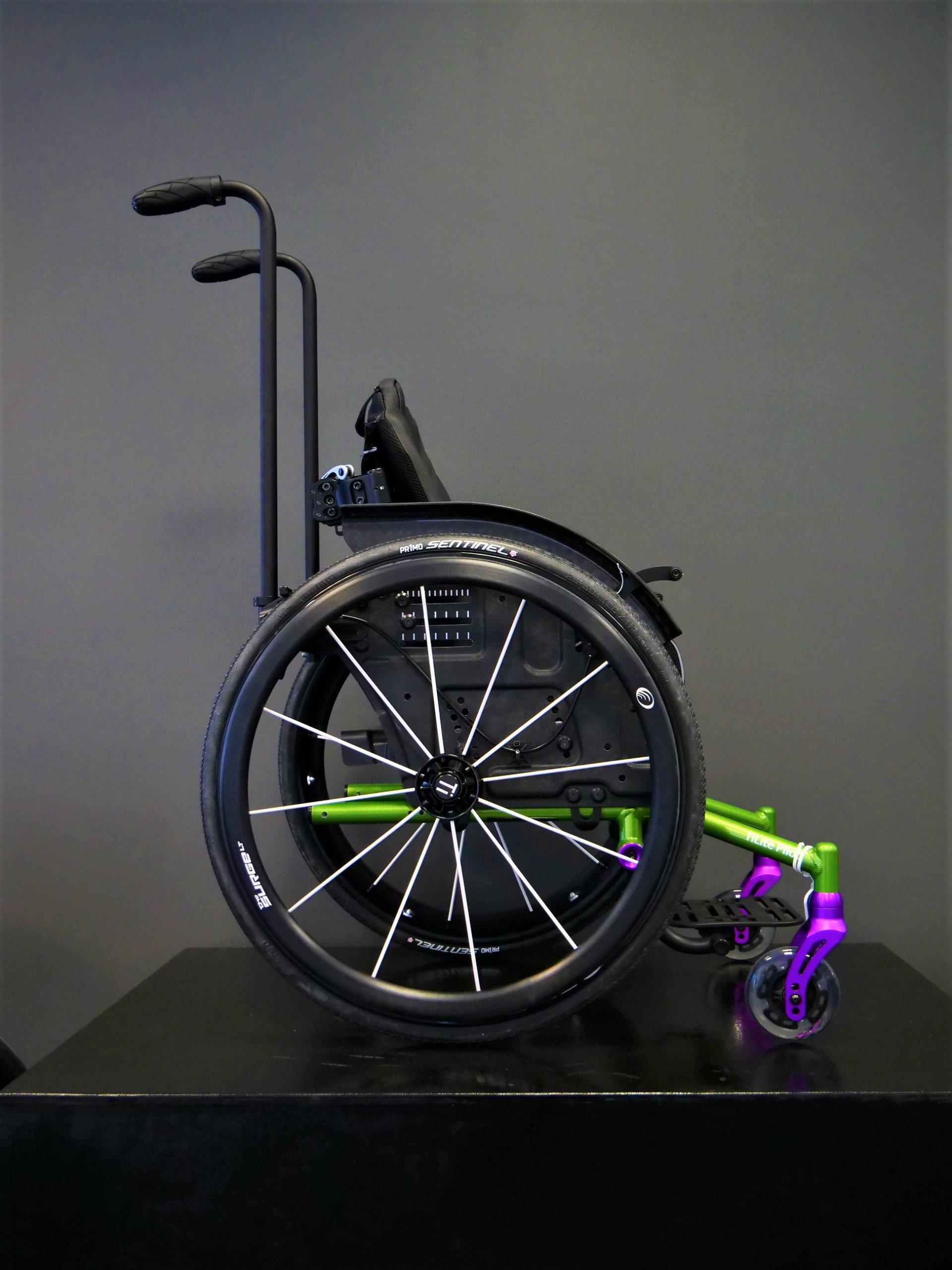 permobil tilite pilot in acid green - clinical mobility solutions testimonials