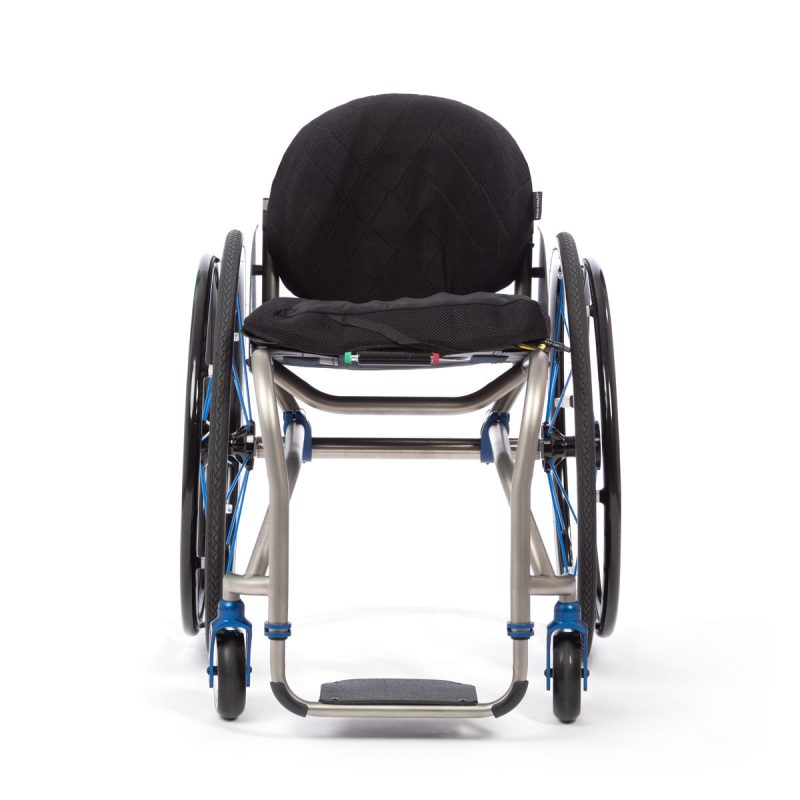 TiLite TR active wheelchair with hard shell backrest