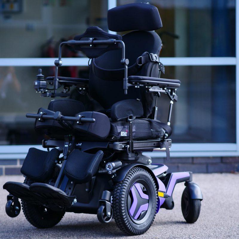 F5 VS Corpus standing powerchairs