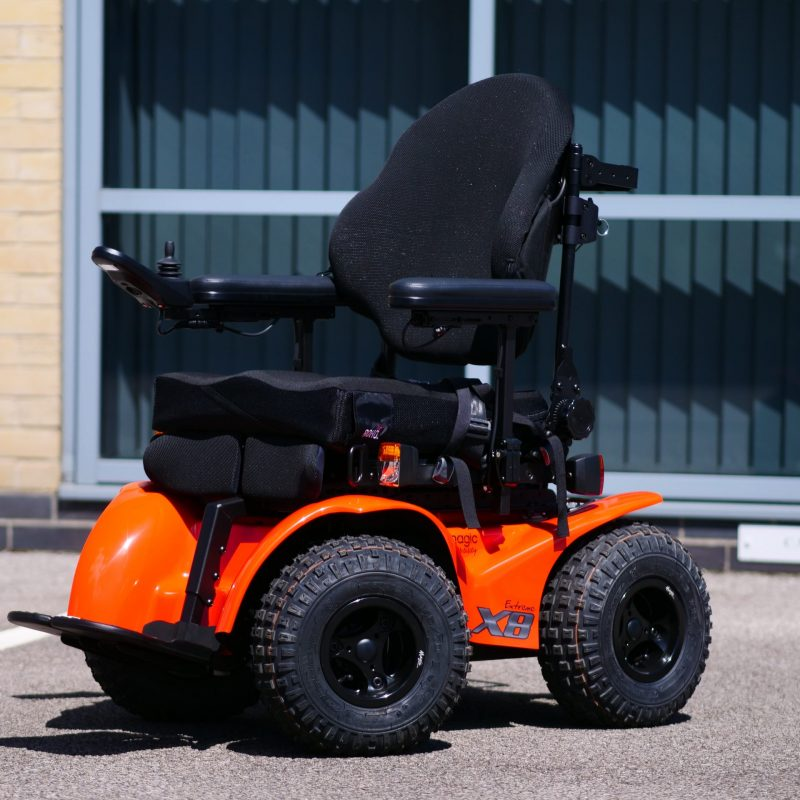 Magic Mobility Extreme X8 all-terrain powerchair