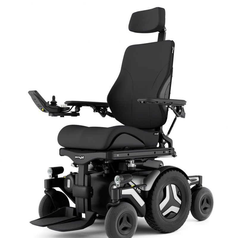 M5 outdoor/indoor powerchairs